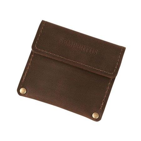 Skórzana bilonówka, portfel na drobne B-01/CH