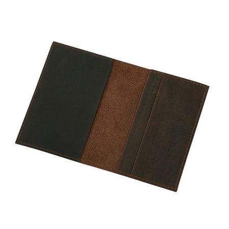 Skórzane etui na paszport, dokumenty lub dowód rejestracyjny